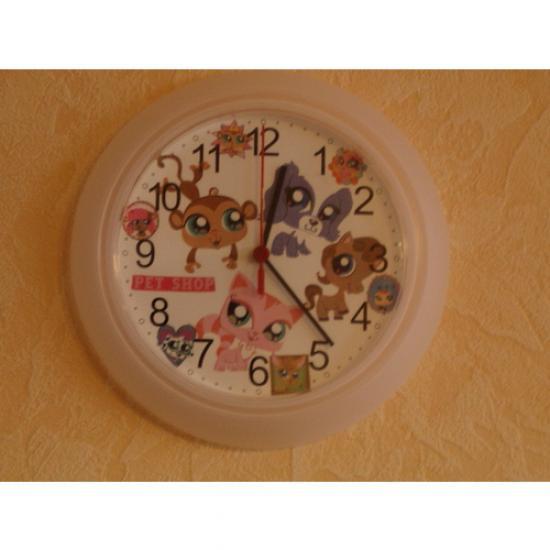 Horloge Pet Shop