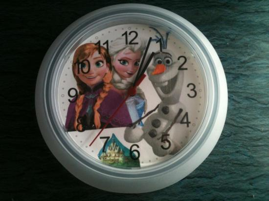Horloge Reine des Neiges