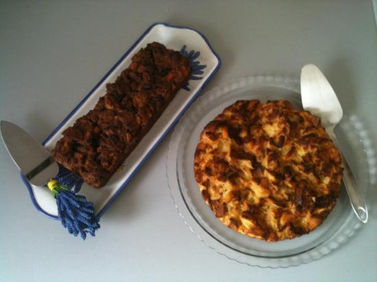 Gâteau au pain Grand-Mère nature et choco