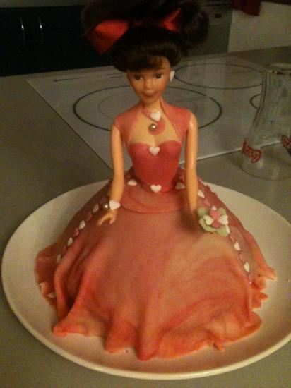 Gâteau Barbie II