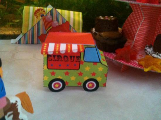 La camionnette Circus