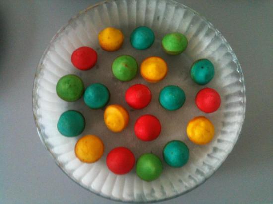 Gateau multicolor